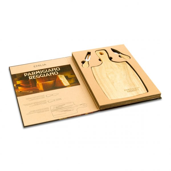 Book set legno