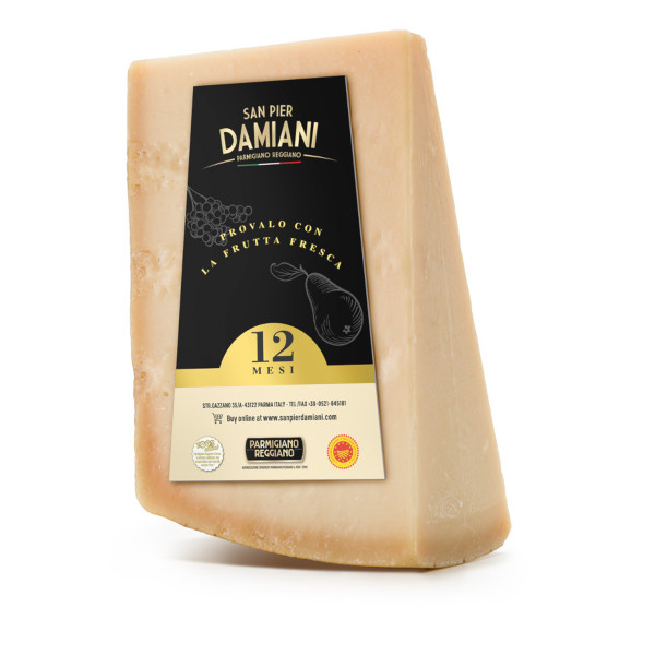 Parmigiano Reggiano 12 mesi - 1 kg