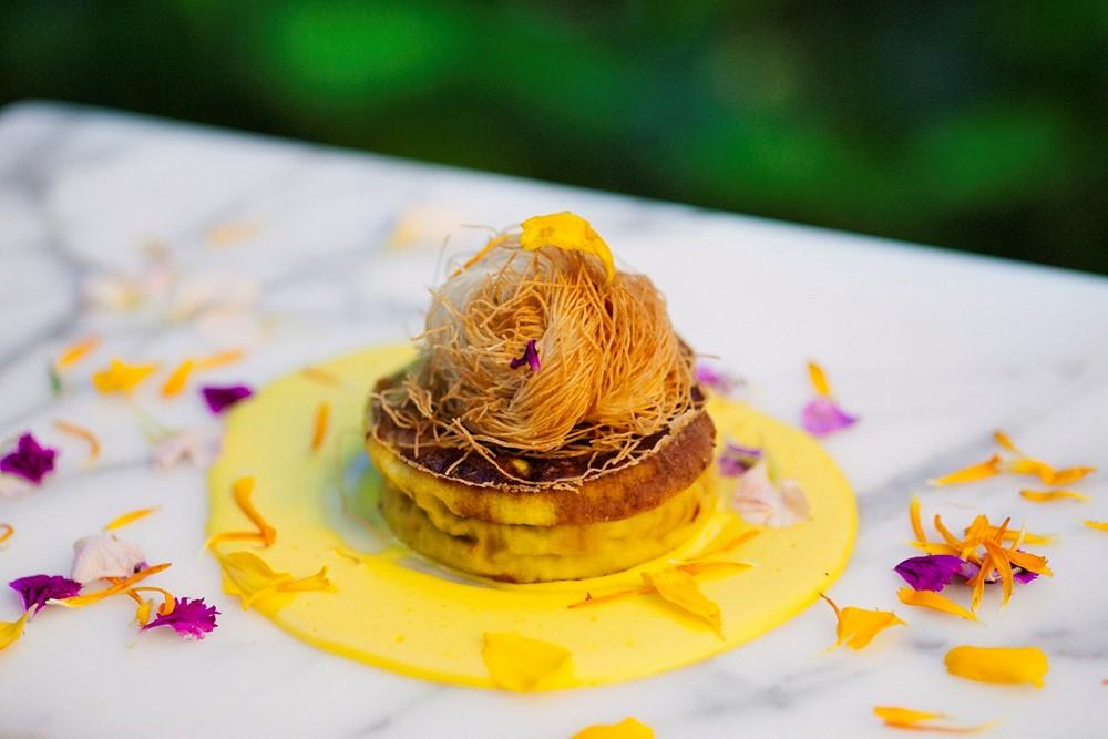 Sformatino di asparagi Parmigiano Reggiano 24 mesi San Pier Damiani