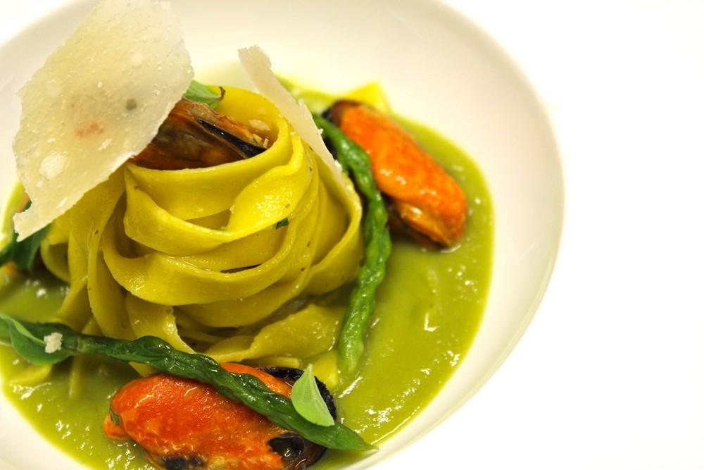 tagliolini asparagi San Pier Damiani Parmigiano Reggiano